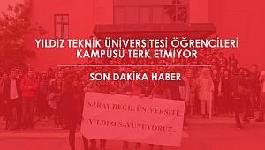 Yıldız Teknik Üniversitesi kapıları kapandı! YTÜ Flaş Gelişme! Öğrenciler kampüsten çıkmayacak
