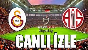 Galatasaray - Antalyaspor | CANLI YAYIN İZLE - 12.02.2018