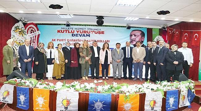 AK Parti Karaköprü Kadın Kolları 2. Olağan kongresi yapıldı