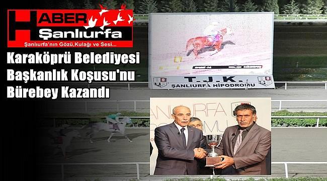 Karaköprü Belediyesi Başkanlık Koşusu'nu Bürebey Kazandı