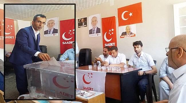 Saadet Partisi Suruç İlçe Başkanı Güven Tazeledi