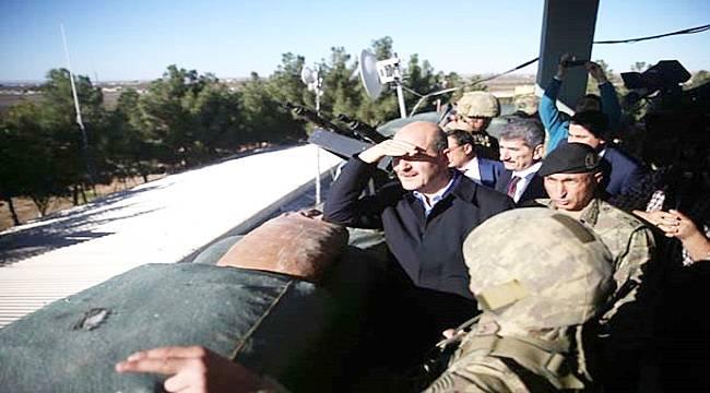 İçişleri Bakanı Soylu Akçakale'de Sınırını Denetledi