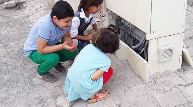 Viranşehir'de Enerji hatları çocuklar için tehlike saçıyor