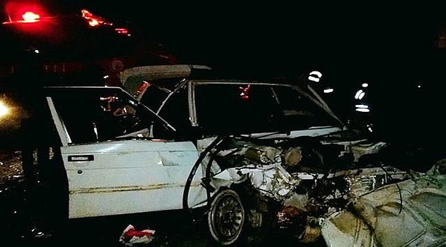 Ceylanpınar'da Trafik Kazası : 4 Yaralı