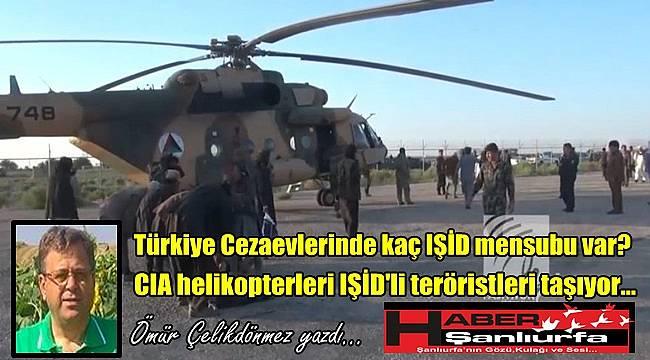 CIA helikopterleri IŞİD'li teröristleri taşıyor…