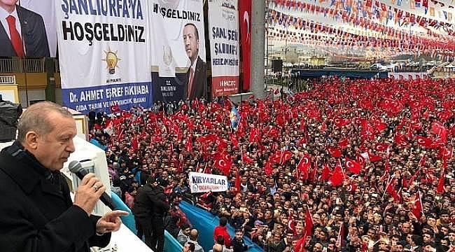 AK Parti Şanlıurfa Miting tarihi Belli Oldu