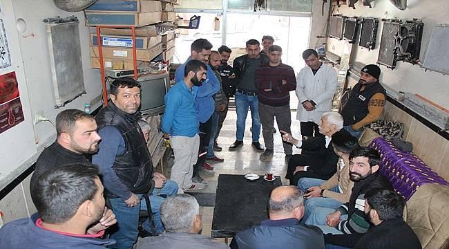 Cevheri, Esnaf ve Vatandaşın Gönlünde Taht Kurdu