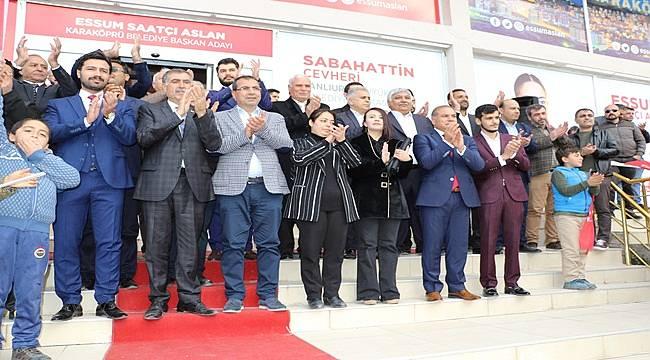 Saadet Partisi Belediye Meclis Üyelerini Tanıttı