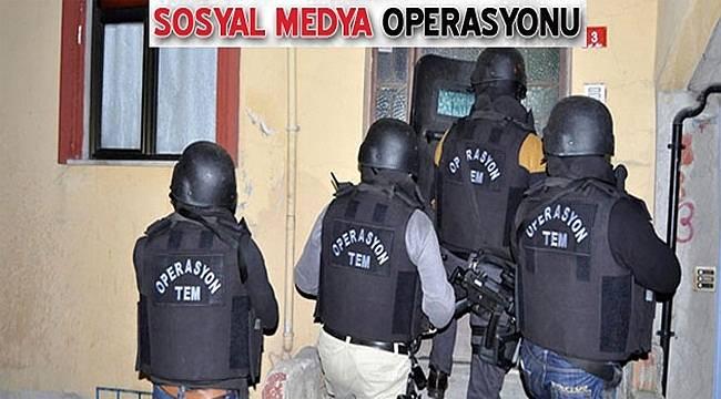 Viranşehir'de Sosyal Medya Operasyonu