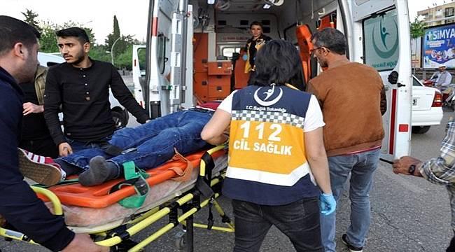 Siverek Trafik Kazası: 1 Yaralı