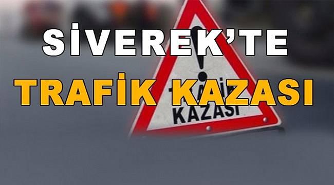Siverek'te 'te trafik kazası: 4 yaralı