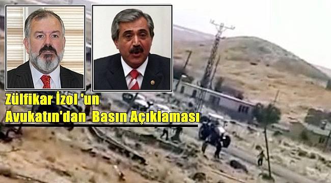 Zülfikar İzol 'un Avukatın'dan Basın Açıklaması