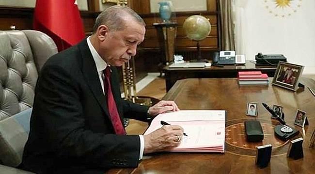Erdoğan'dan Bakanlıklara Atama!