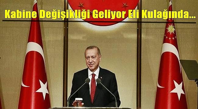Ahmet Hakan : Kabine Değişikliği Geliyor Eli Kulağında...