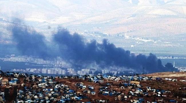 YPG SİHA'lara Karşı Lastik Yakıyor