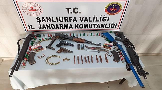 Birecik'te ve Suruç'ta Silah Kaçakçıları Yakalandı