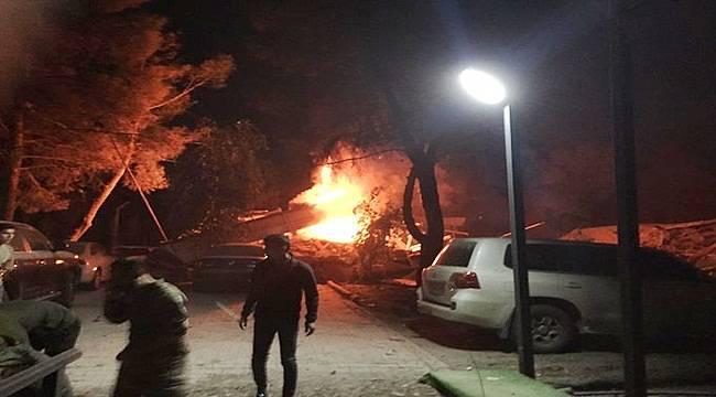 Şanlıurfa'da Cephanelikte patlama : 14 Personel Yaralı