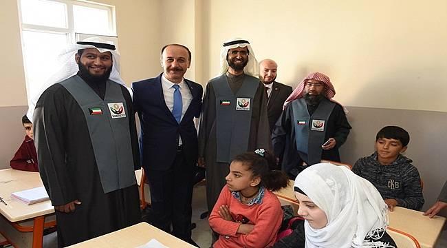 Şanlıurfa'da yeni okul açılışı