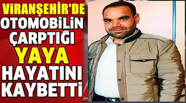 Viranşehir'de Otomobilin Çarptığı Yaya Hayatını Kaybetti