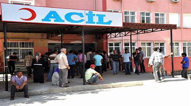 Akçakale'de Trafik Kazası :: 5 Yaralı