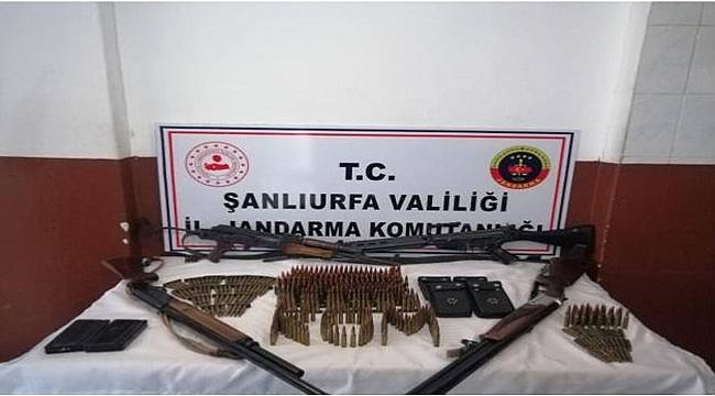 Viranşehir'de Silah Kaçakçılarına Operasyon