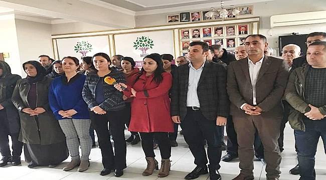HDP il örgütüne saldırı Urfa'da Kınandı