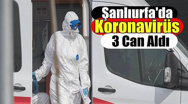 Şanlıurfa'da Koronavirüs 3 Can Aldı