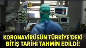 Koronavirüsün Türkiye'deki Bitiş Tarihi Tahmin Edildi!