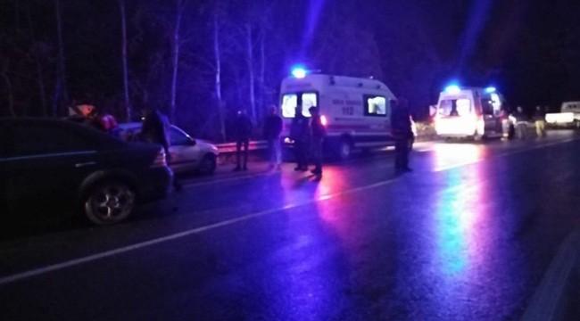 Şanlıurfa- Akçakale Yolunda Kaza : 4 Yaralı