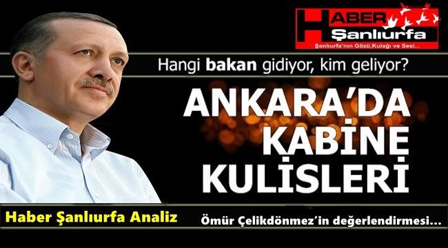Haber Şanlıurfa Analiz : Kurban Bayramı Sonrası Yeni Kabine...