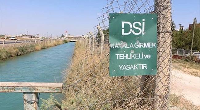 Viranşehir'de Sulama Kanalına Düşen Çocuktan Acı Haber