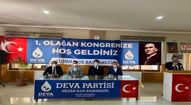 Deva Partisi Hilvan İlçe Kurucu Başkanını Seçti