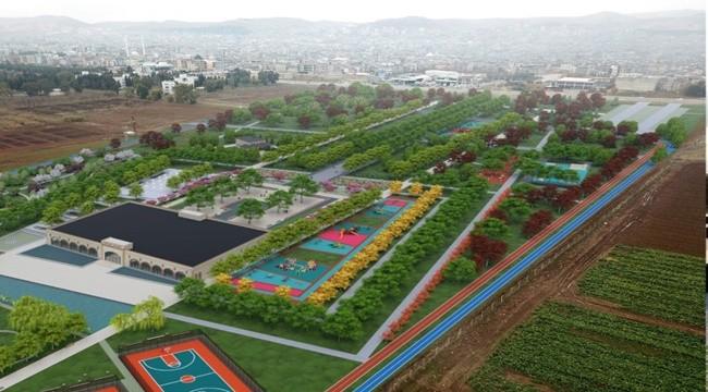 Millet Bahçesi ile Eyyübiye Nefes Alacak