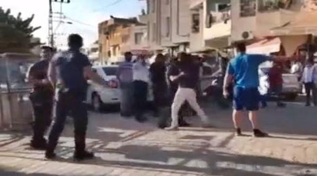 Şanlıurfa'da Karakol Önünde Kavga : 7 Yaralı