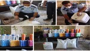 Şanlıurfa'da Sahte Şampuan ve Kimyasal Maddeler Ele Geçirildi