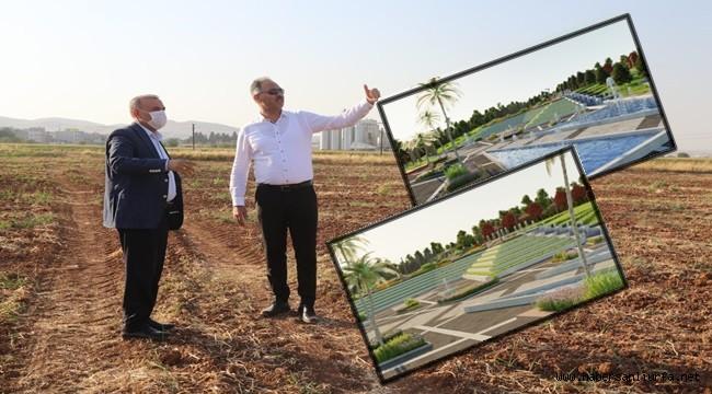 Eyyubiye'de Millet Bahçesi 180 Dönüme Çıktı