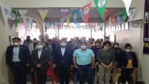 HDP Bozova'da Eş Başkalarını Seçti