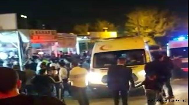 Şanlıurfa'da Araç Markete Daldı :7 Yaralı (video)