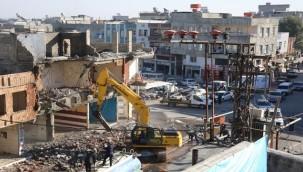 Eyyübiye'de İstimlak Çalışmaları Biten Ev ve İşyerlerin, Yıkımına Başlandı