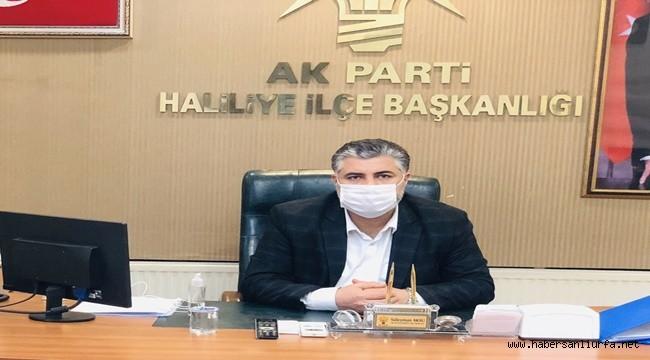 AK Parti Haliliye ilçe Başkanı Aksu Sessizliğini Bozdu