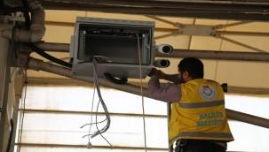 Haliliye'de Semt Pazarlarına Güvenlik Kameraları Takıldı