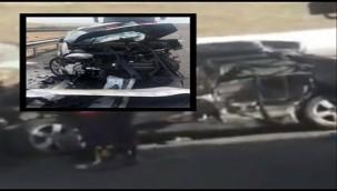 Hilvan'da Trafik Kazası : 2 Ölü