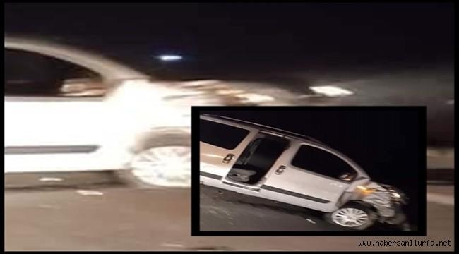 Suruç Yolunda Trafik Kazası : 4 Yaralı