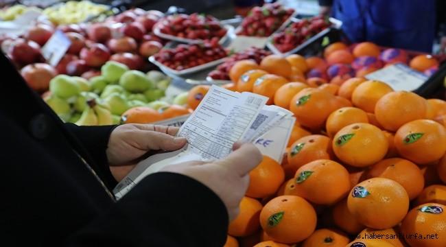 Ticaret Bakanlığı Urfa'da Fahiş Fiyat Denetimi Yaptı