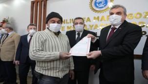 Urfa'da Marangozlar ve Mobilyacılar Tek Çatı Altında Toplandı Tapuları Verildi