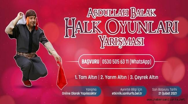 Abdullah Balak Halk Oyunları Solo Yarışması Düzenliyor