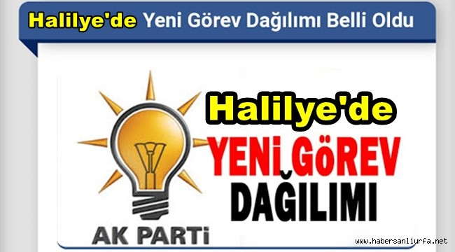 Ak Parti Haliliye İlçe Yönetim Kurulu Listesi Açıklandı