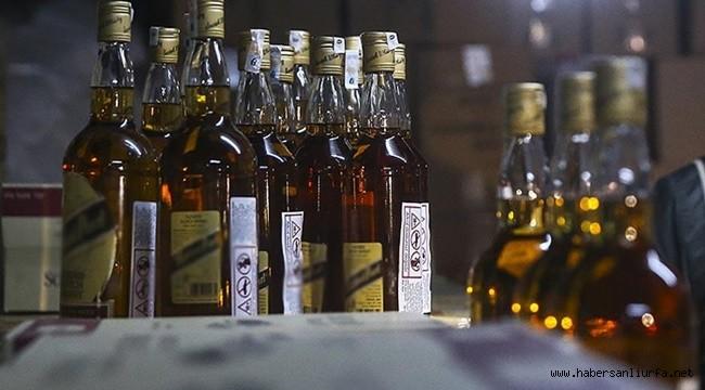 Birecik'te 6 bin litre sahte alkol ele geçirildi: 3 gözaltı