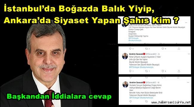 İstanbul'da Boğazda Balık Yiyip, Ankara'da Siyaset Yapan Şahıs Kim ?