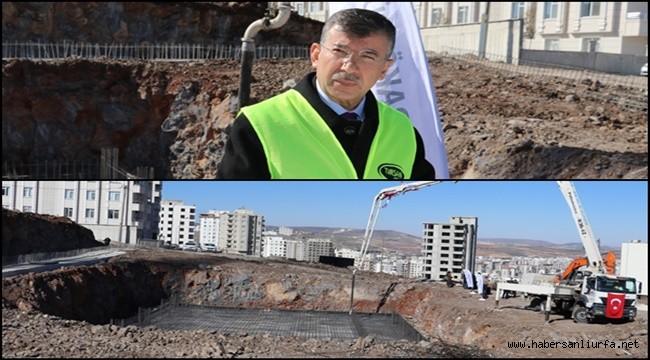 Karaköprü'de Önemli Yatırımın Temeli Atıldı